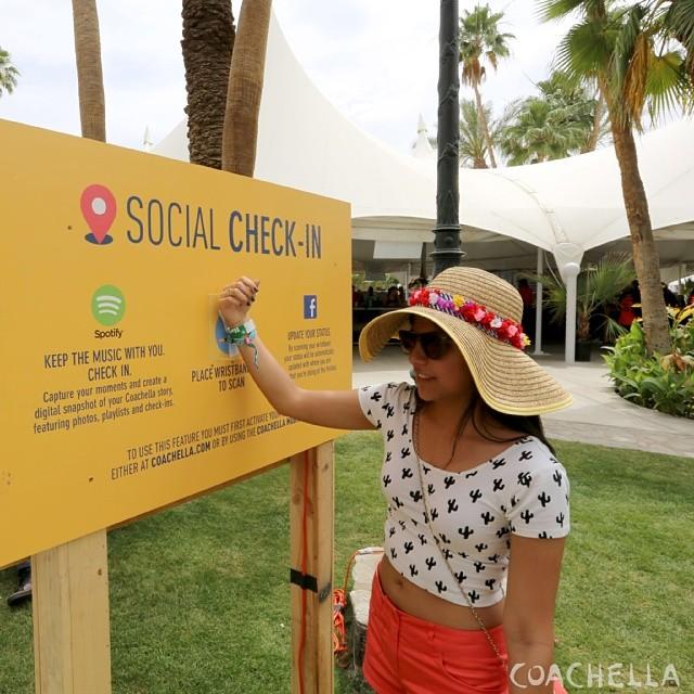 coachella social media