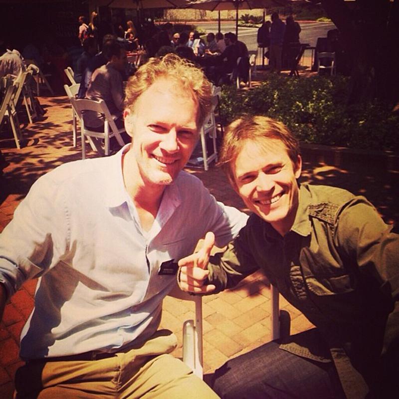 Werner Brell (Red Bull Media House) and Emmanuel Seuge (Coke)