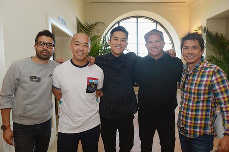 Musa Tariq (Nike), Jeff Staple (Staple Design), Bobby Hundreds (The Hundreds), Mark Sperling (Group Y), and riCardo Crespo (Th13teen)
