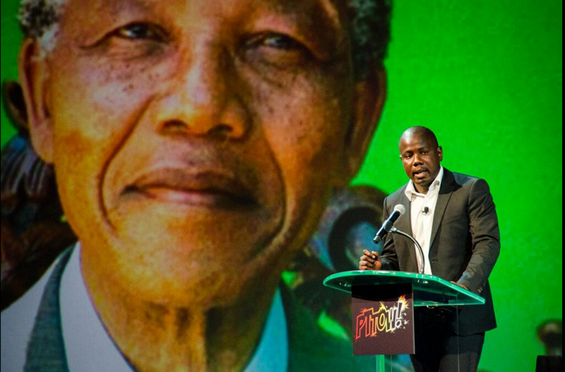 Kweku Mandela, grandson of Nelson Mandela