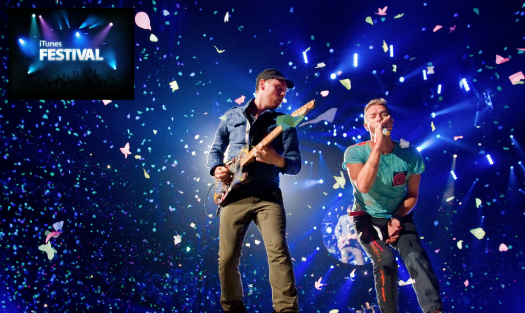 Itunes Festival Coldplay 2014