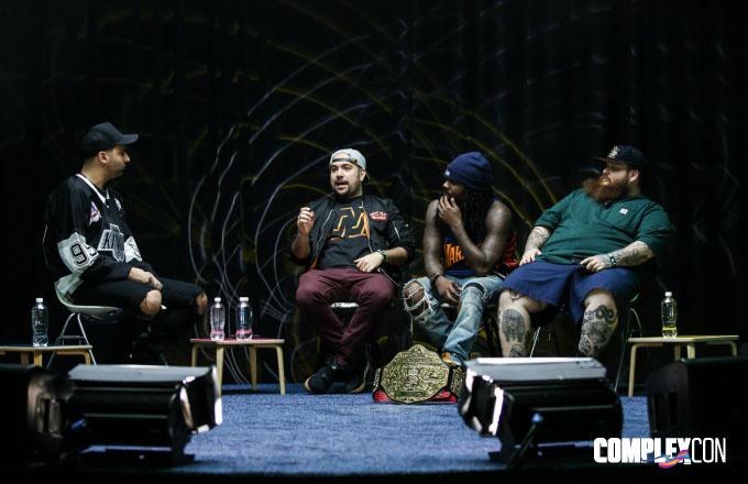 ComplexCon WWE Panel
