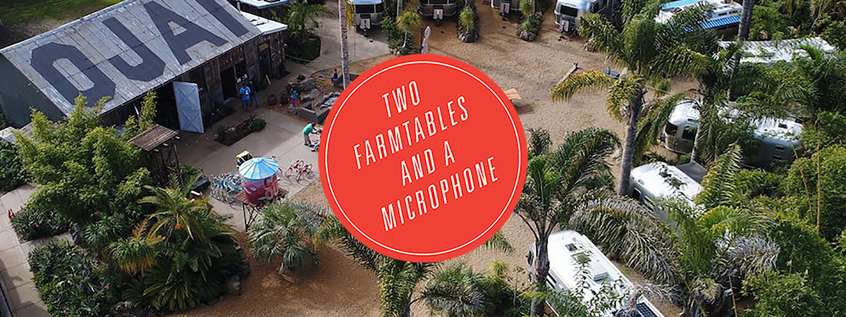 Two Farmtables And A Microphone | Group Y